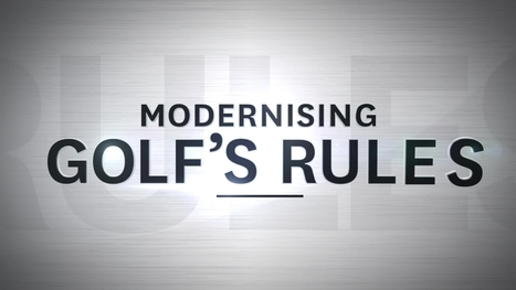 Eric talks about the new 2019 golf rules