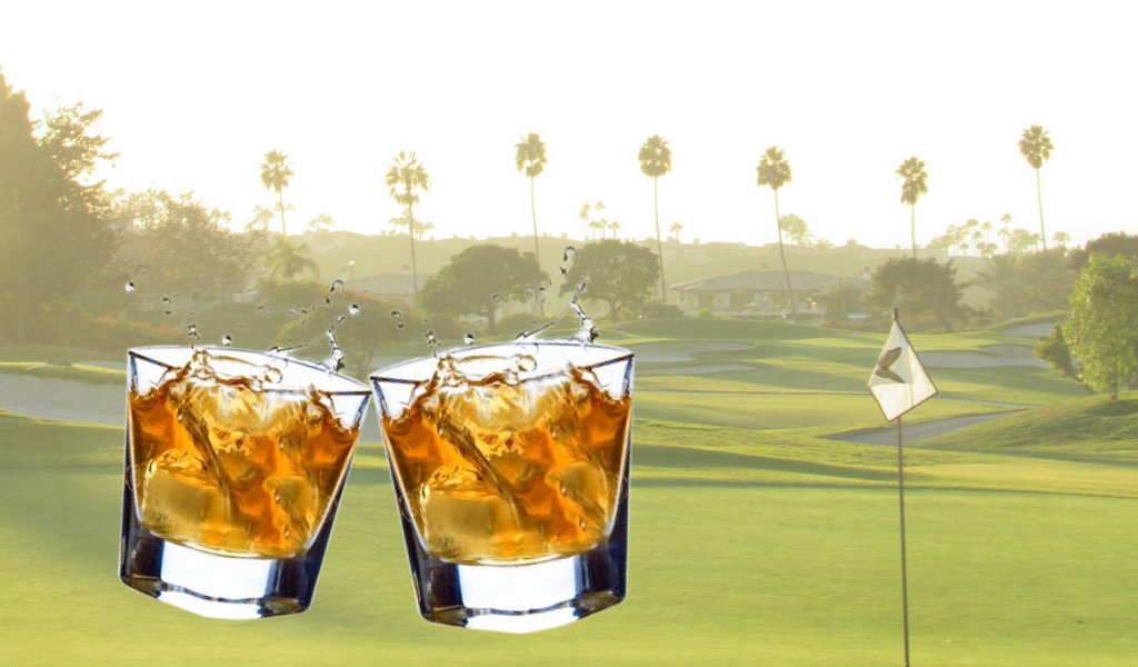 Golf & Scotch...Need we say more?