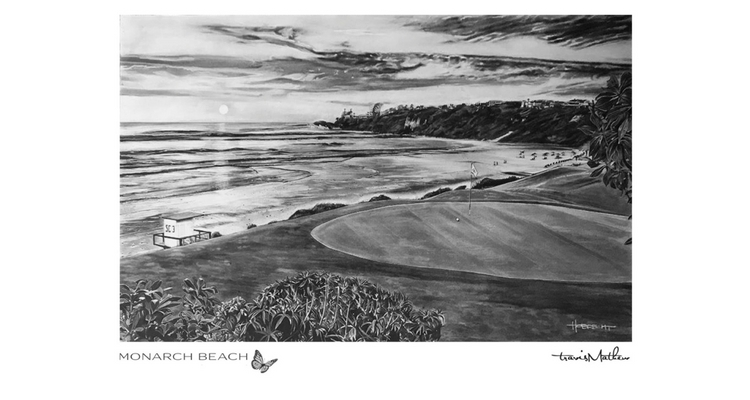 TravisMathew tee shirts adorned by Dave Hobrecht Artwork