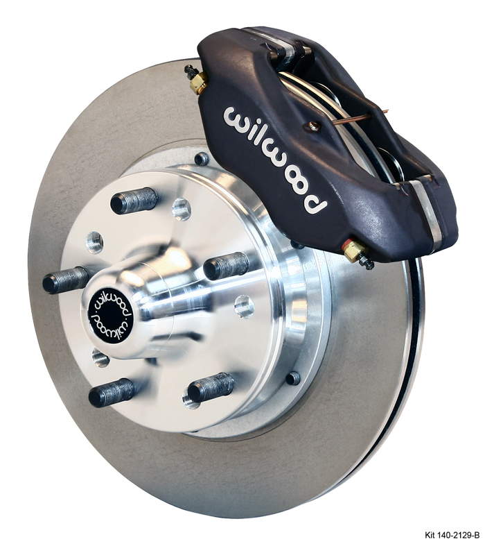 Part # 140-10996 - Wilwood Forged Dynalite Pro Series Front Brake Kit