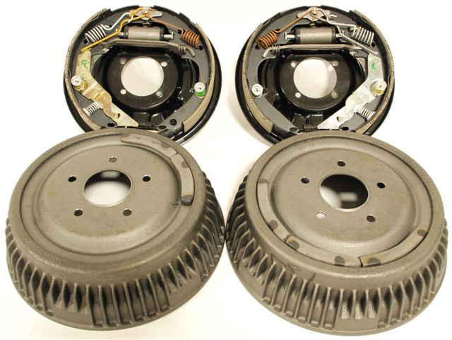 "Part # 6007 - Drum Brakes for Small GM Housing Ends (2.75"" Offset)"