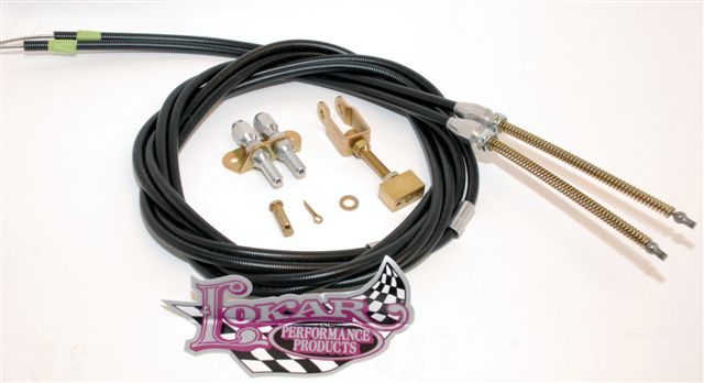 Part # 6EC80FU - Lokar Universal Parking Brake Cable Kit