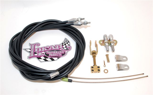 Part # 6EC81FU - Lokar Parking Brake Cable Kit For Wilwood Internal Parking Brake and Ford Explorer