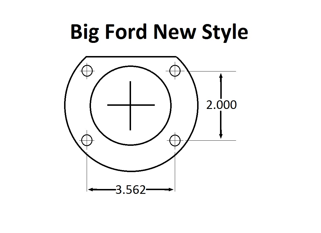 Big Ford New Style (2.5 Offset)