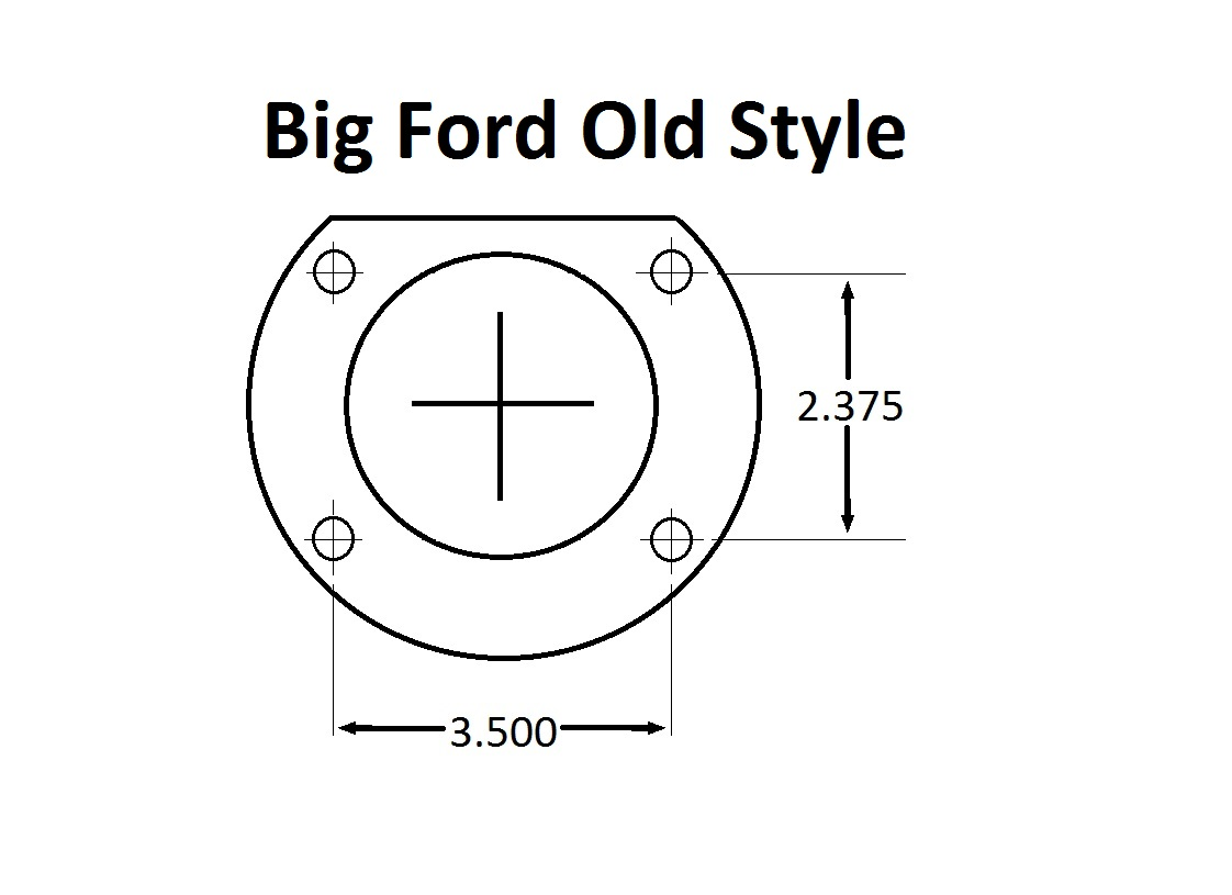 Big Ford Old Style (2.36 Offset)