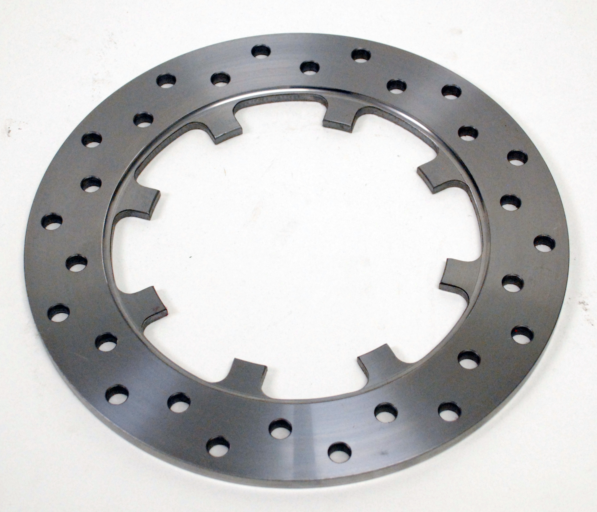 """6200-0001-SS - Replacement Moser Drilled Stainless Steel Drag Rotor (11.44"""")"""
