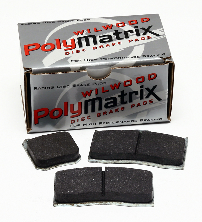 Part # 15E-6096K - Wilwood PolyMatrix E Brake Pads