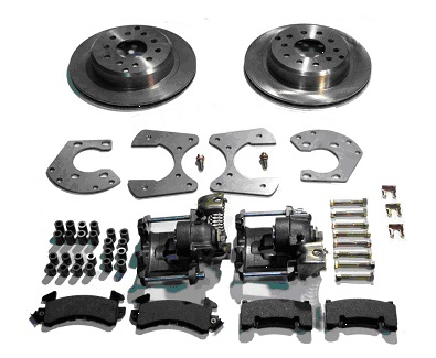 Big Ford Economy Disc Brake Kit With Parking Brake For Staggered Shocks
