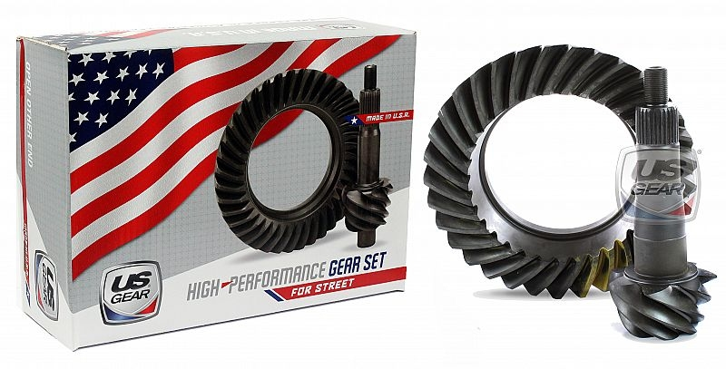 """Part # 88F456 - 8.8"""" Ford 4.56 Pro/Street Ring & Pinion -- US Gear"""