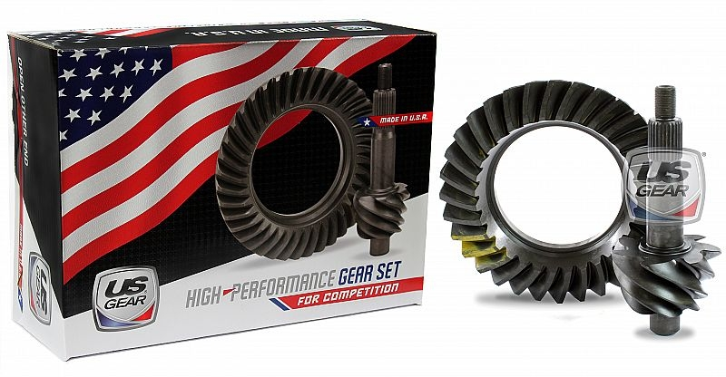 """Part # 09F471P - 9"""" Ford 4.71 Pro Ring & Pinion (Large Pinion) -- US Gear"""