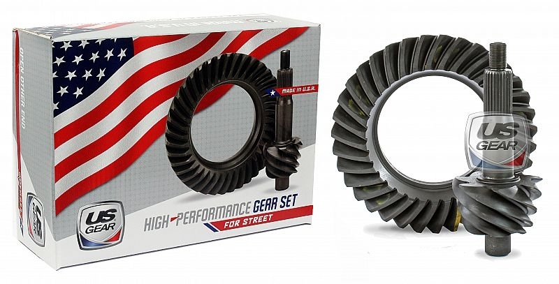 """Part # 09F500P - 9"""" Ford 5.00 Pro Ring & Pinion (Large Pinion) -- US Gear"""