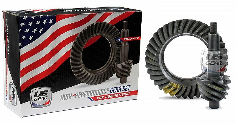 """Part # 09F529P - 9"""" Ford 5.29 Pro Ring & Pinion (Large Pinion) -- US Gear"""