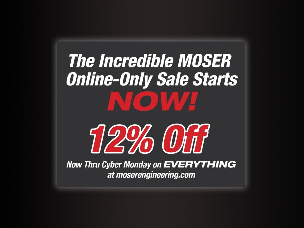 Moser 12% Off Holiday Sale