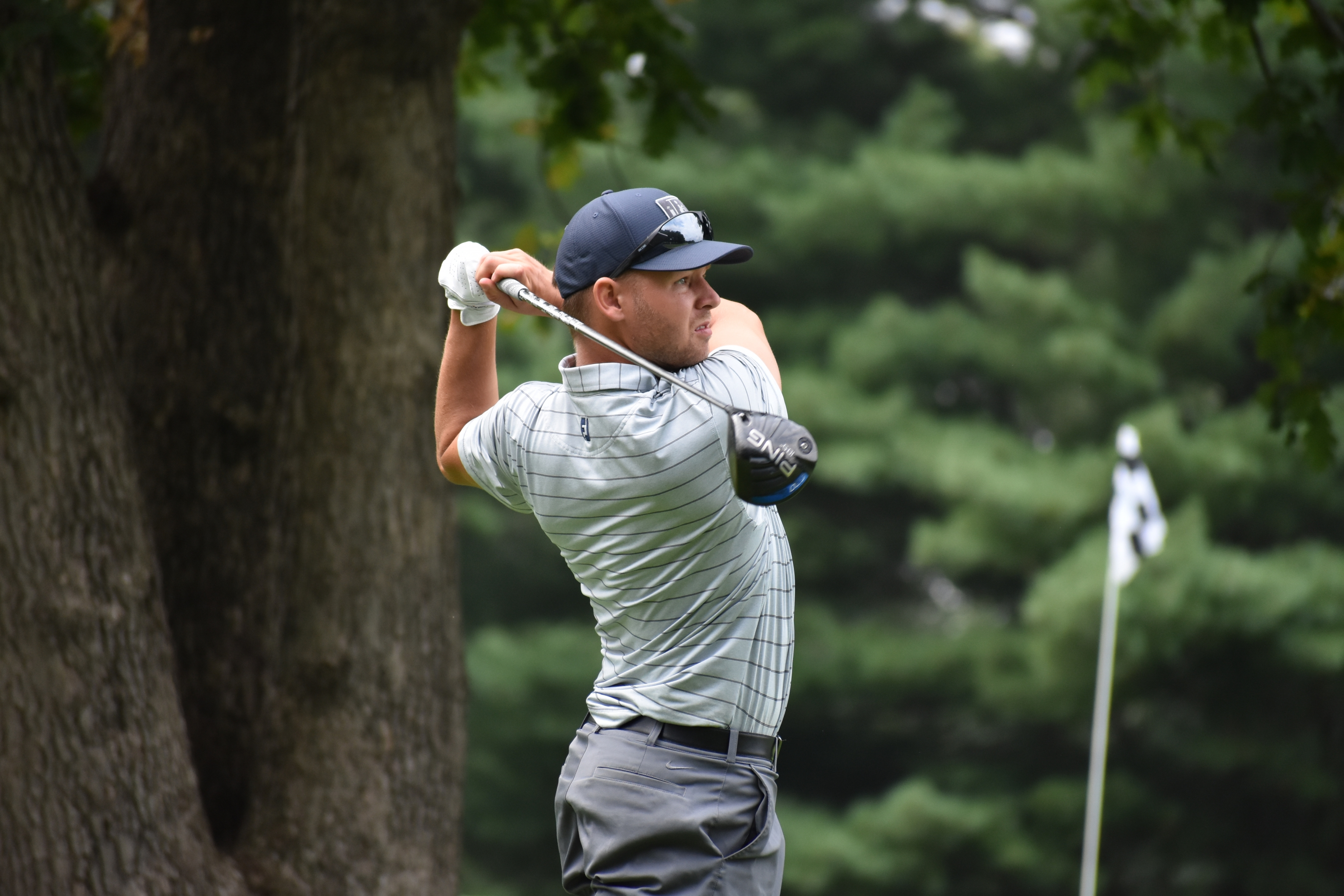 Simpson Soars to the Top, 68 Lands Him Atop Leaderboard Heading to Final Day of Stroke Play Championship