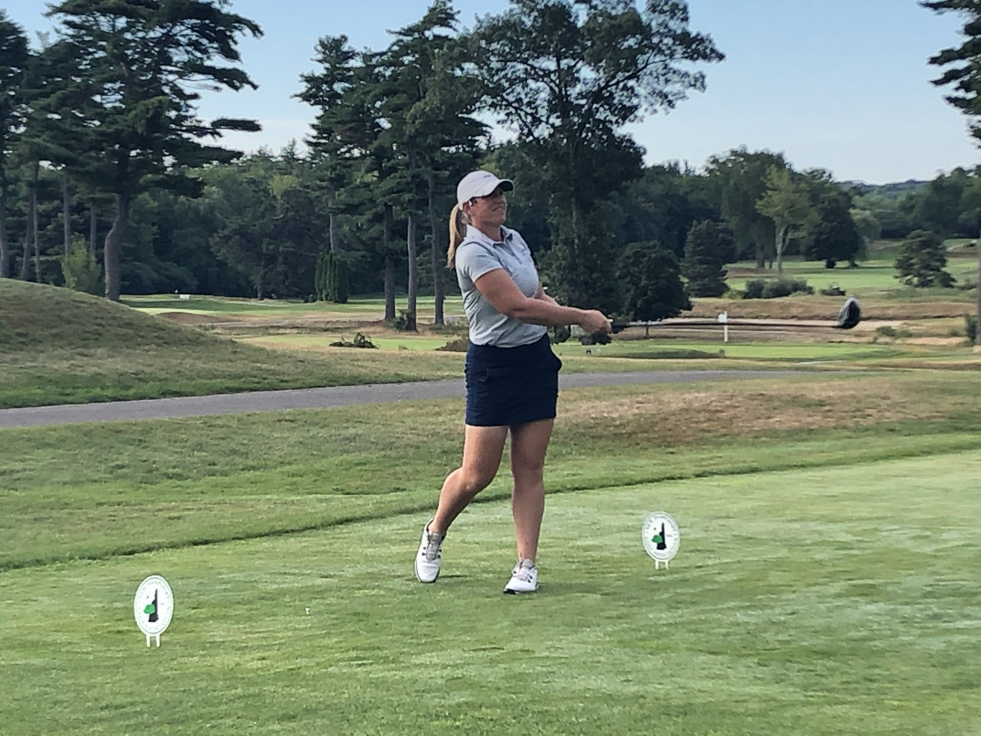 Watt Leads Women's Mid-Amateur By One With Opening Round 72