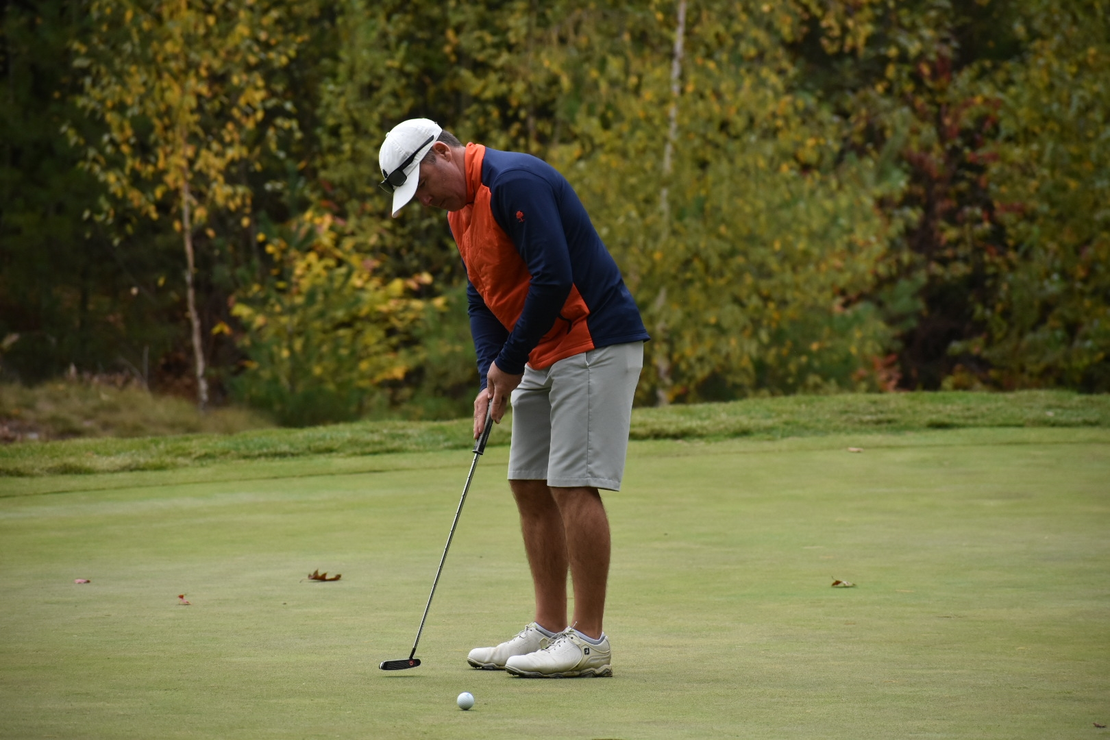 Wilson Heads to Second Round of NH Mid-Amateur With Two-Shot Leads After Opening Round 69