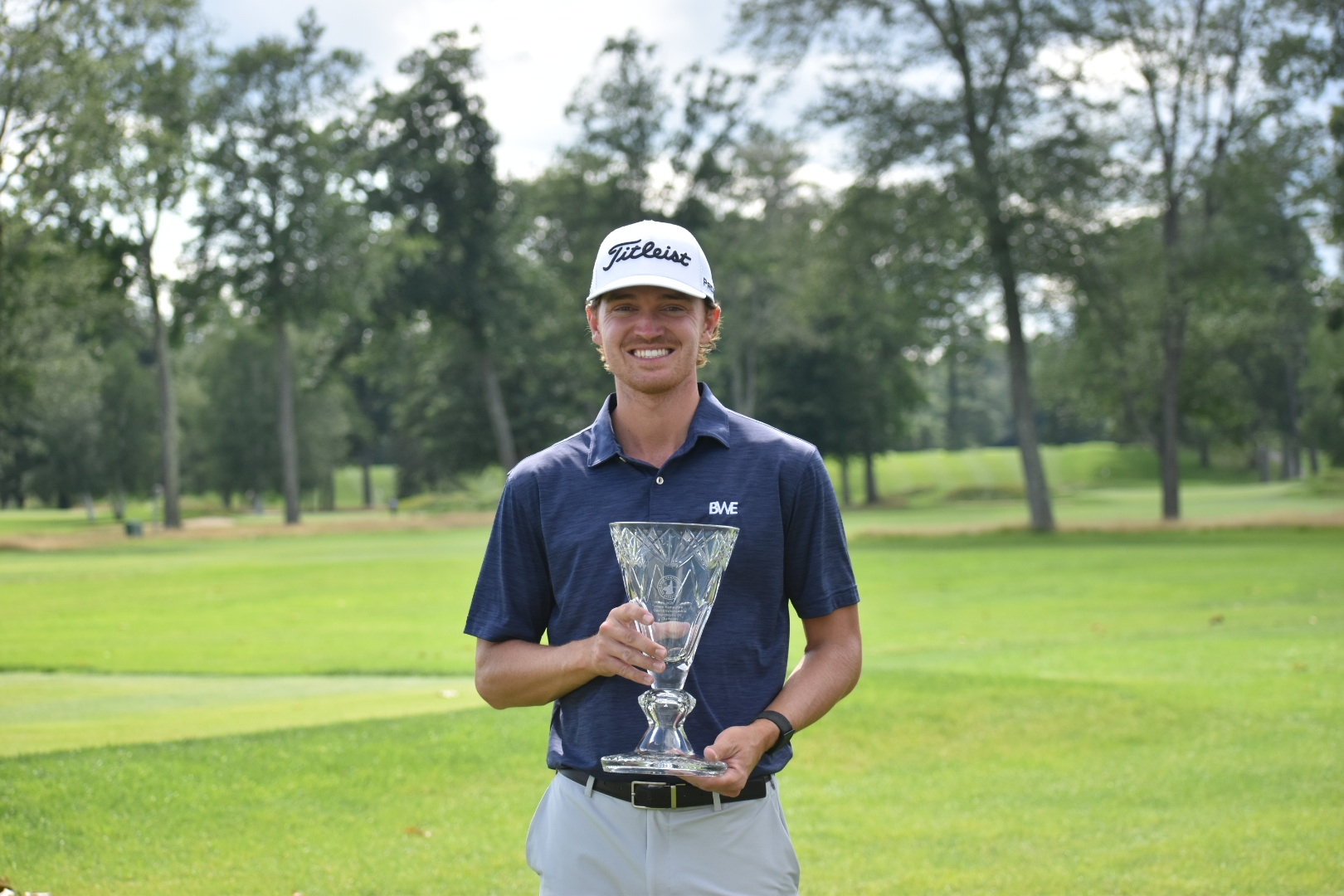 Chris Crawford Crowned 87th New Hampshire Open Champion