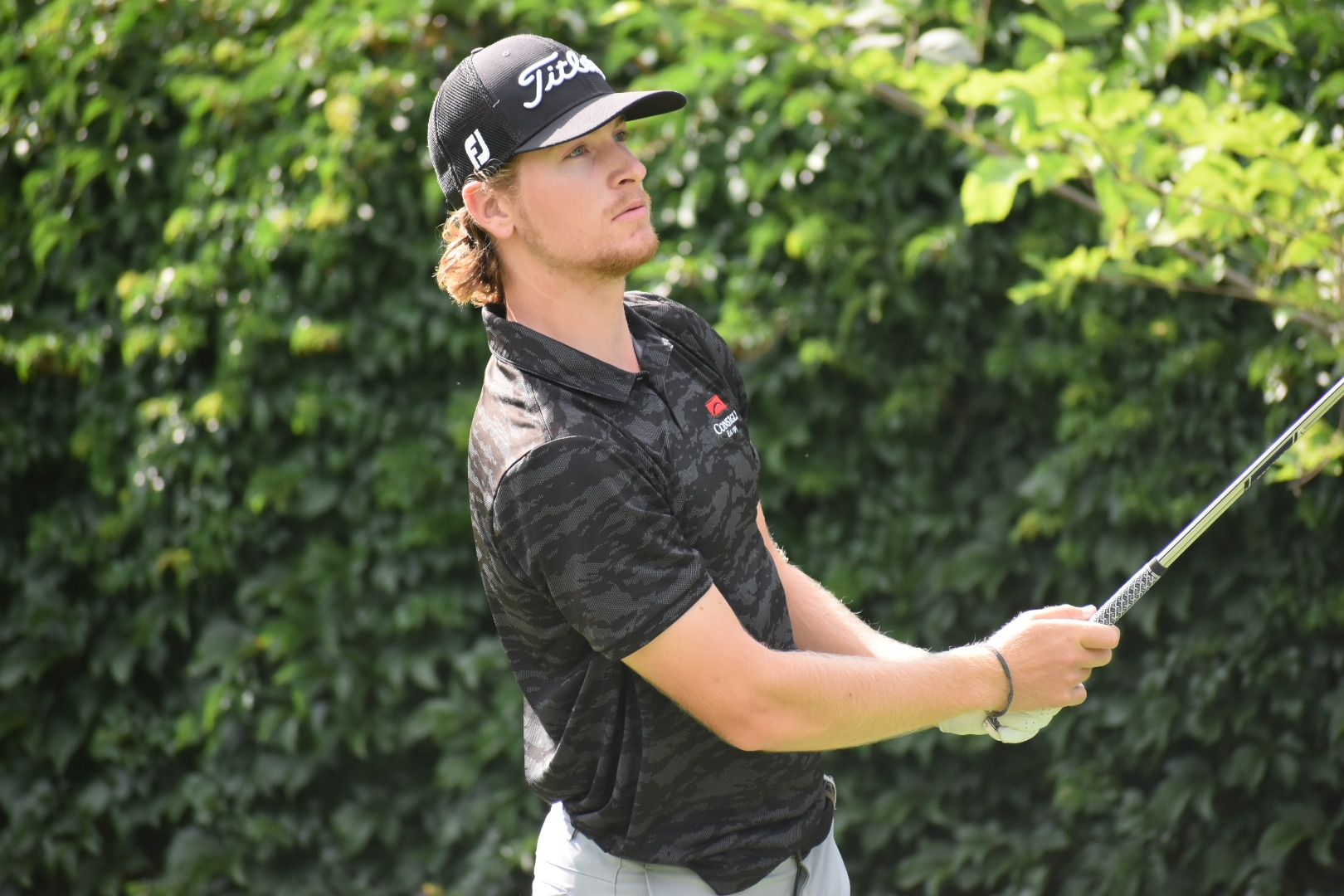 Berberian Brings the Heat in Opening Round of NH Open, Leads Field at Five-Under Par