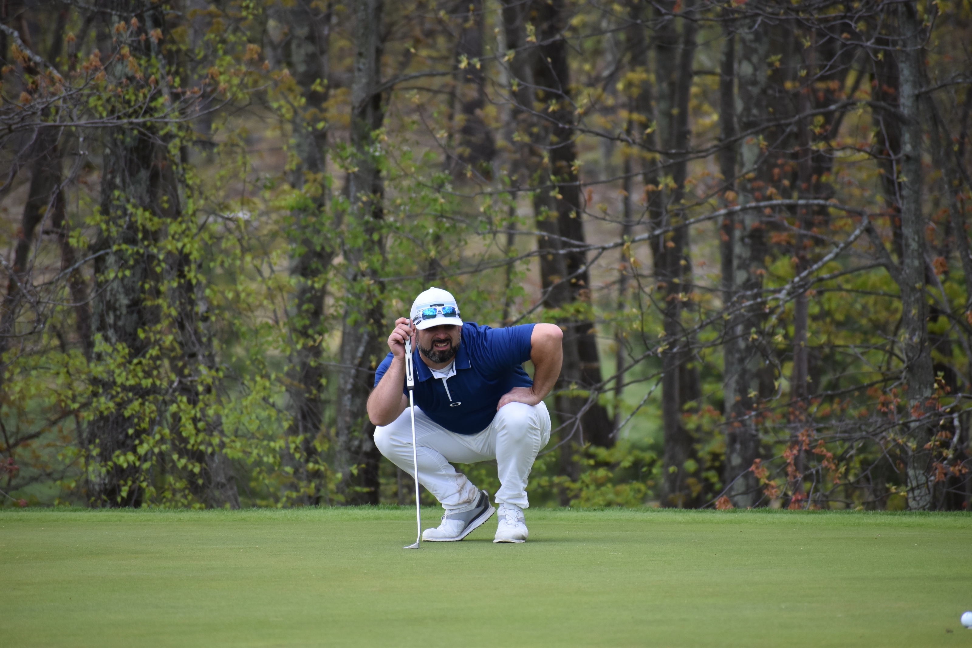 Moore Makes His Amateur Golf Return by Earning Top Seed in Mid-Amateur Match Play