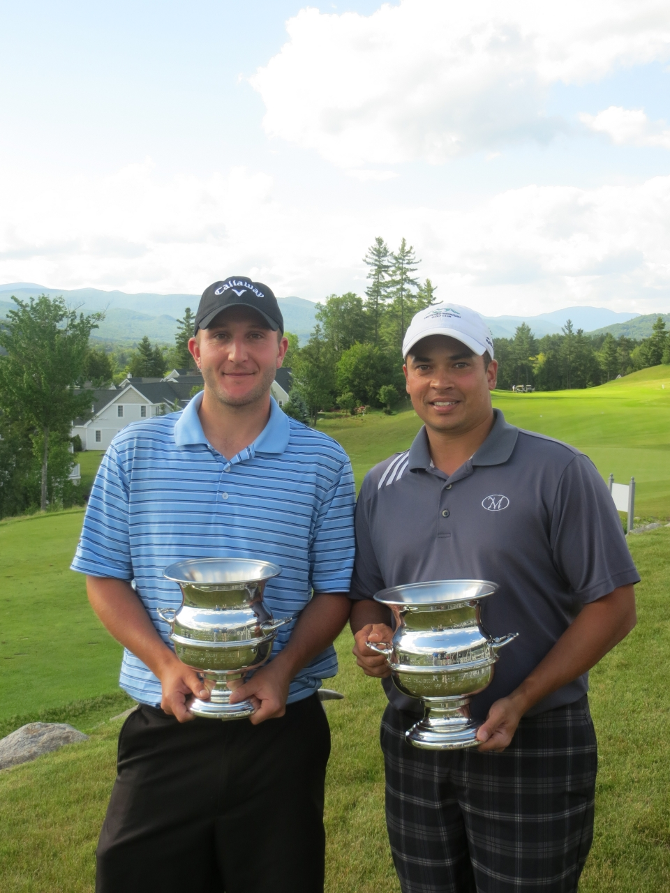 Kohler and Chamberlain seen here after winning the 2013 NHGA Four Ball