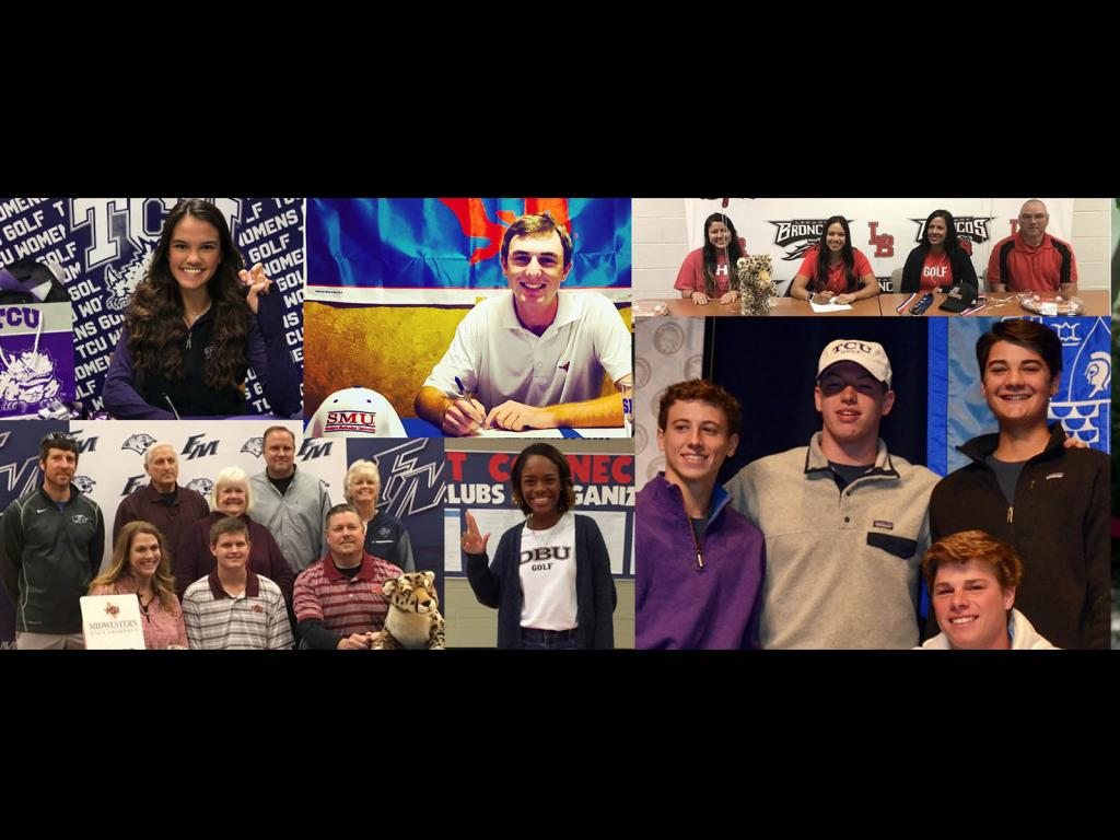 Congratulations class of 2019 on their college commitments!