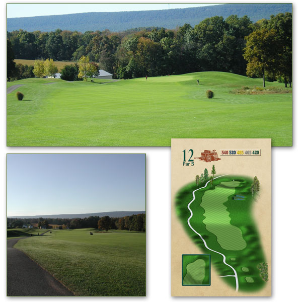 Olde Homestead Golf Club's 18-Hole Championship Golf Course