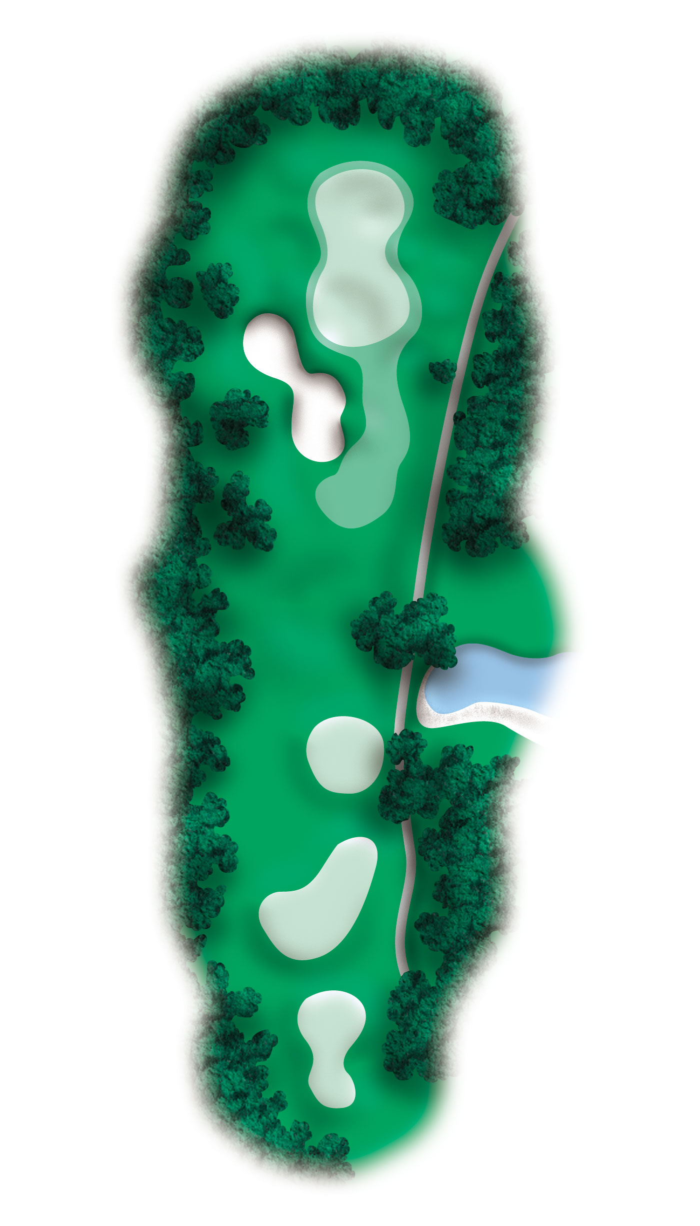 hole 5 diagram
