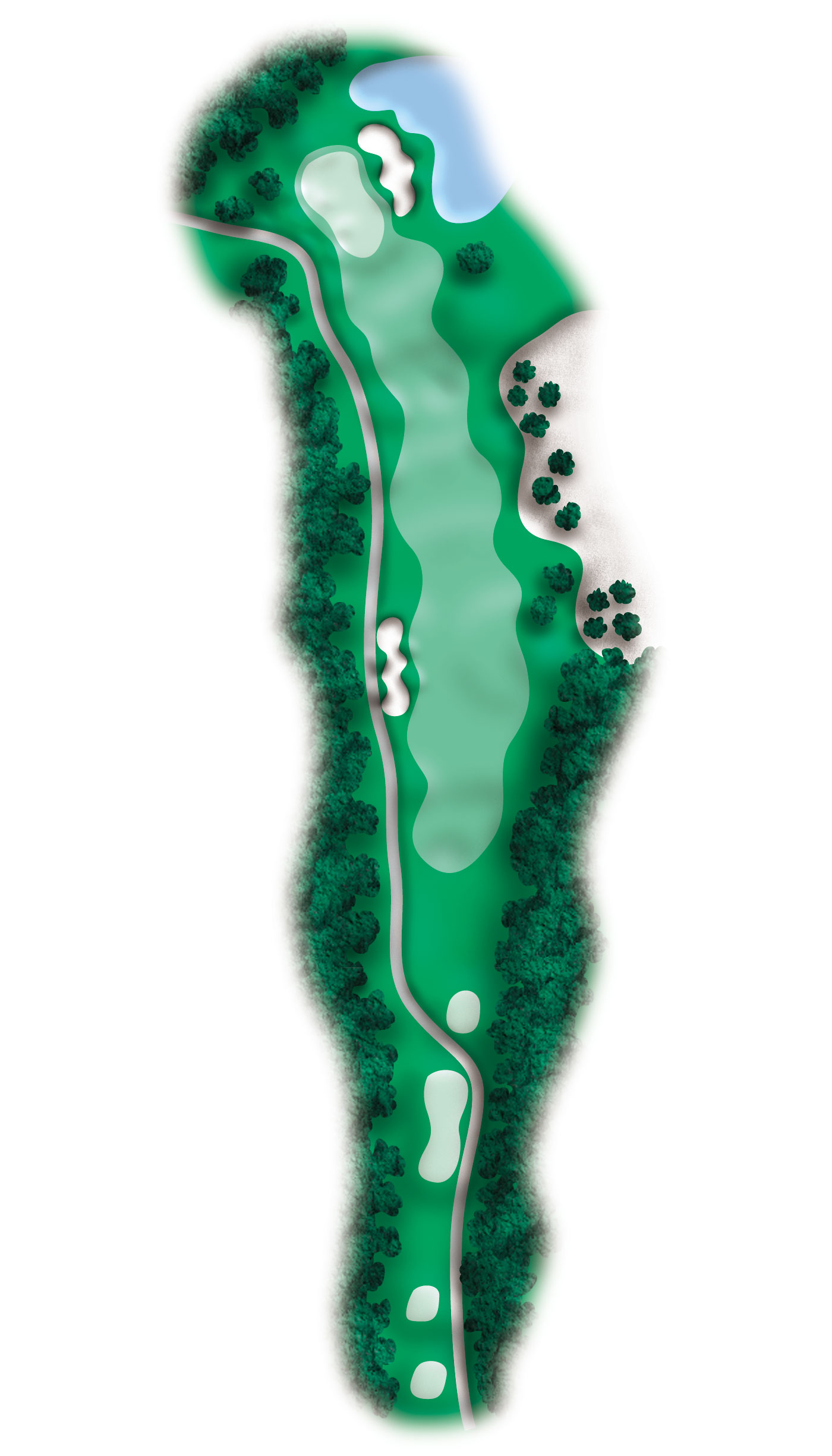 hole 9 diagram