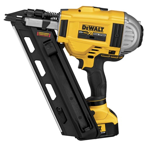 Battery-Operated Framing Nailer
