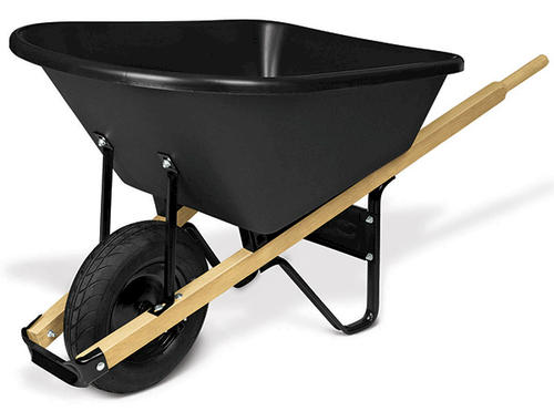 Johnson Wheelbarrows 6 Cu Ft 88 Lb Wheelbarrow