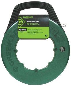 Greenlee FTS438-240 240 Oil-Tempered Spring Steel Fish Tape