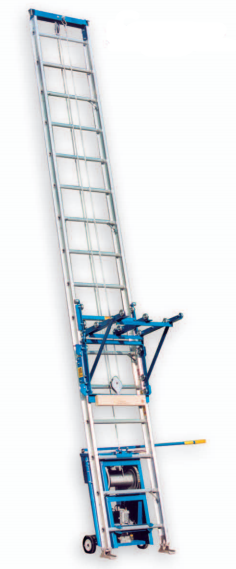 RGC Pro 400 Professional 28 Gas Ladder Platform Hoist Lift Rental