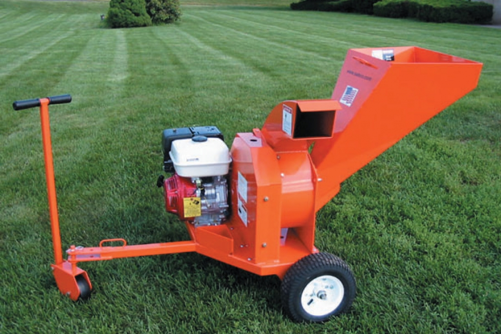 "3"" Mulch Compost Chipper Shredder"