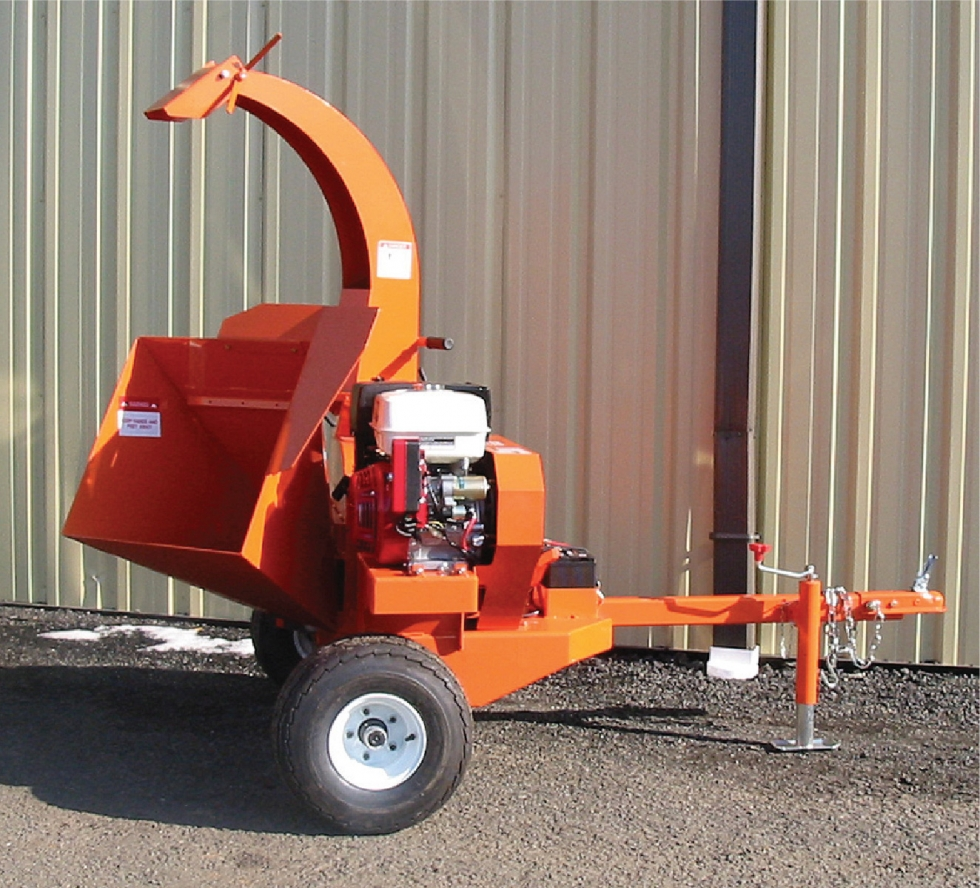 "4"" Towable Chipper Shredder"
