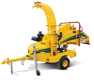 "6"" TOWABLE BRUSH CHIPPER SHREDDER"