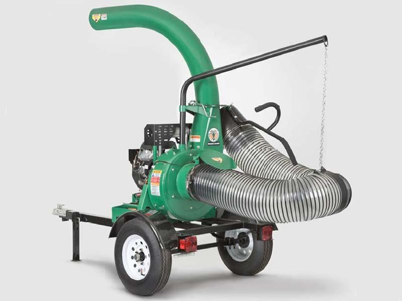 Billy Goat Leaf Vacuum With Piranha Blade Lawn Trailer