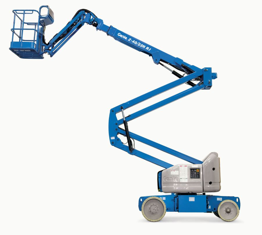 46 Battery-Operated Articulating Boom Lift Rental