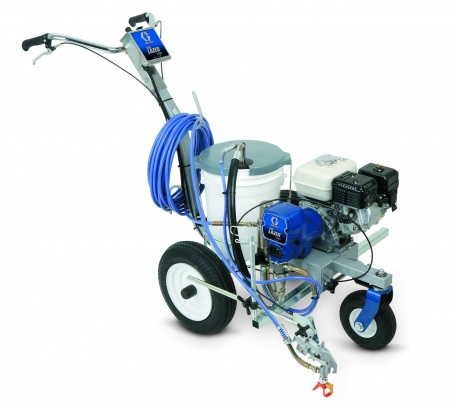 Gas-Powered Line-Stripping Paint Sprayer