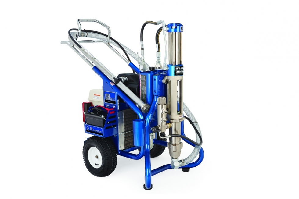 GAS HYDRAULIC AIRLESS PAINT SPRAYER