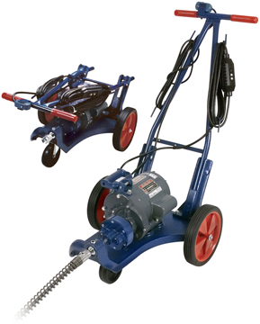 SEWER AUGER W/ DETACHABLE CABLE