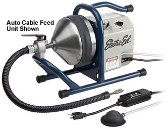 Electric Eel 35 Hand Held Sewer Auger Self Feed