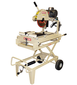 "EDCO GMS-14A 14"" Gas Powered Masonry Table Saw Rental"