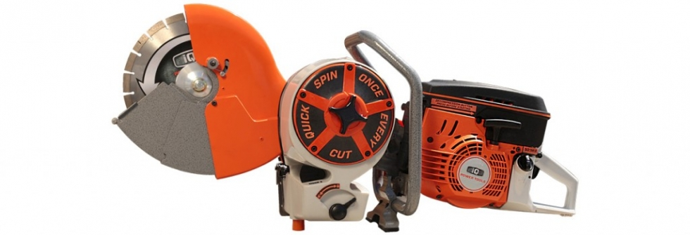 "12"" Gas-Powered Hand-Held Saw with Dust Containment"