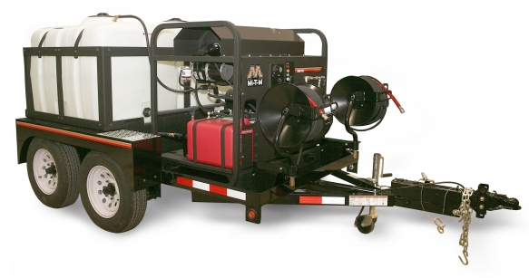 TRAILER-MOUNTED HOT WATER PRESSURE WASHER