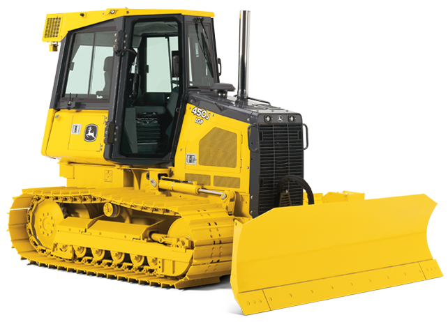 ENCLOSED CAB DOZER w/ Air Conditioning