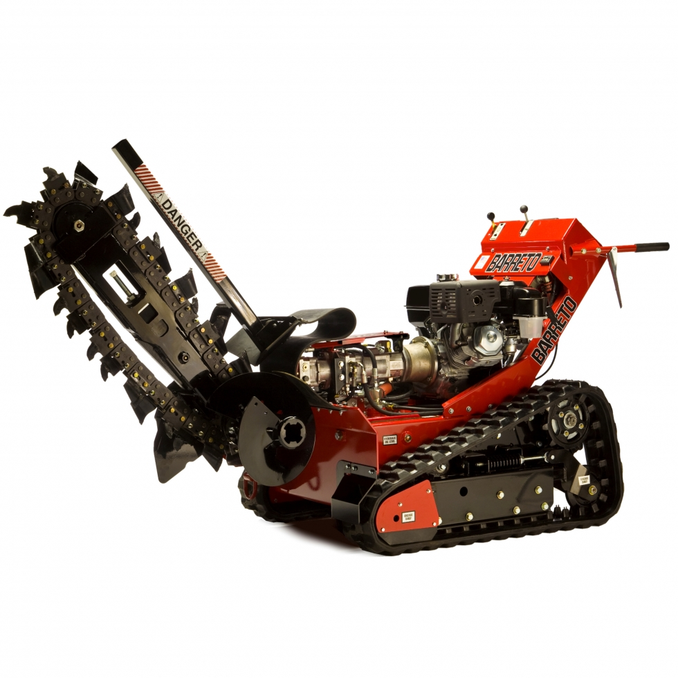 """6""""W x 48""""D Walk-Behind Tracked Trencher"""