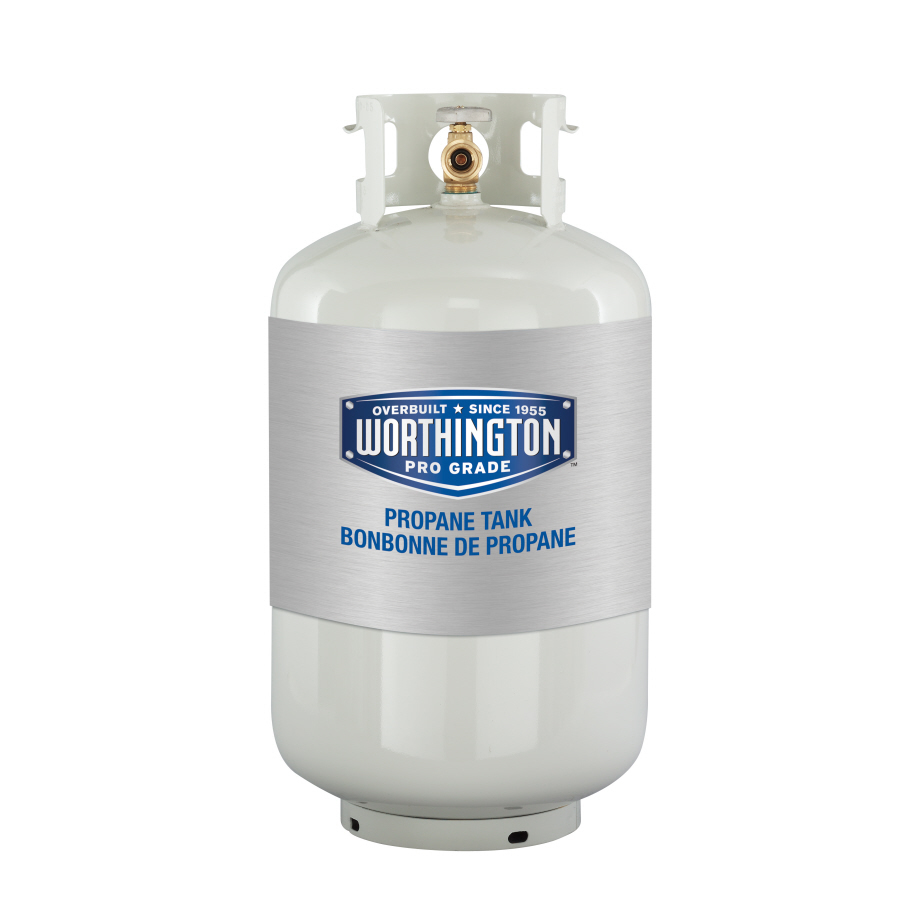 Worthington 30 Lb Cylinder Propane Tank Equipment Rental