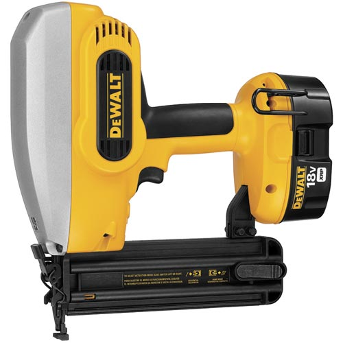 Dewalt DC608K Cordless Battery Brad Finishing Nailer