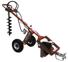 Rice One-Man Dirt Dawg Hydraulic Post Hole Digger Auger Rental