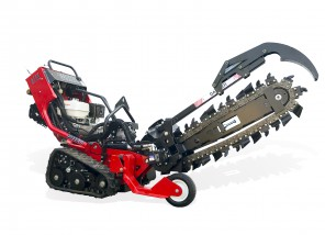 """4""""W x 30""""D Walk-Behind Tracked Trencher"""